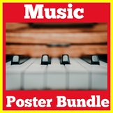 Music Posters BUNDLE
