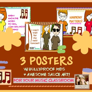 Music Posters - Concerts, harmony, singing