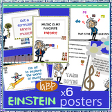 Music Posters: Einstein respect, do re mi, more