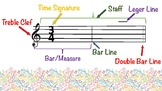 Free Music Theory Poster