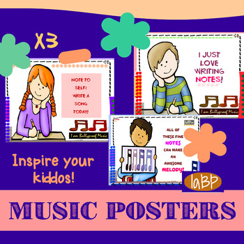 Composing Songwriting Posters