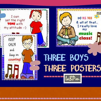 Music Posters - boys