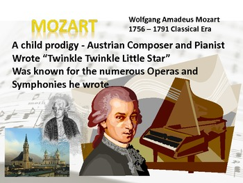 Music Posters - composers, quotes, instruments