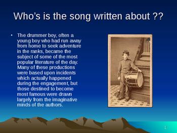 Music Power Points for Civil War - Battles