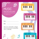 Music Practice Colour Chart