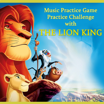 Music Practice Game: The Lion King