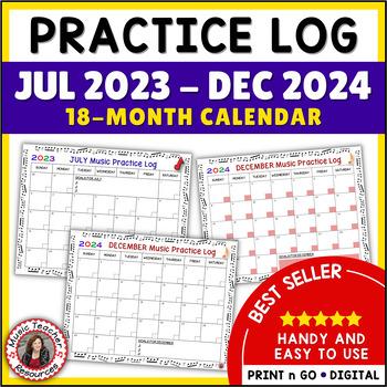 Music Practice Log