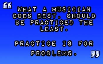 Music Practice Problems- Music Motivational Poster