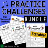 Music Practice Records & Band Practice Logs BUNDLE
