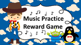 Music Practice Reward Game (Practice Chart) - Toy Story Inspired Theme