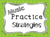 Music Practice Strategy Posters