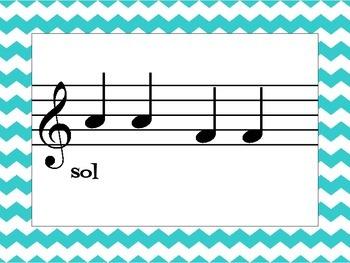 Music Cards: Beginning Sight Reading Sol-La-Mi