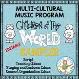 Music Program Sampler: Multi-Cultural Music Program Editab