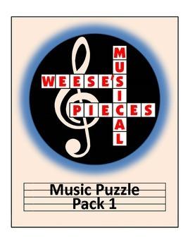 Music Puzzle Pack 1