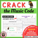 Music Games: Crack the Music Code (North American terminology)