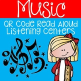Distance Learning: Music QR Code Read Aloud Listening Centers