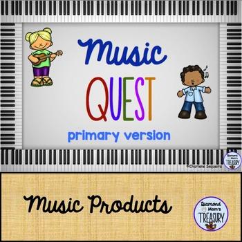 Music Quest primary version