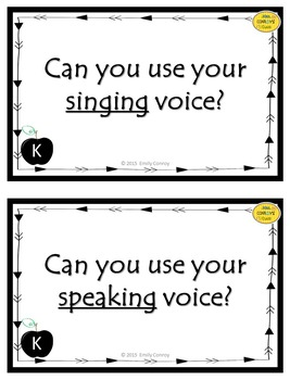 Music Question of the Day Cards (Music Assessments to Start Class)
