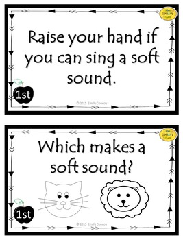 Music Question of the Day Cards (Elementary Music Assessments to Start Class)