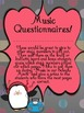 Music Questionnaires - Game