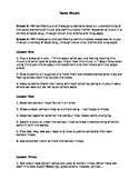 Music Quick Unit Plan and Rubric