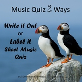 Music Quiz Two Ways