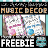 Music Quote - Ice Cream Theme {FREEBIE!} Sprinkles For My Ears...