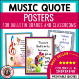 Music Posters: Quotes for Bulletin Boards and Classrooms