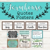 Music Quote Posters - Farmhouse Theme