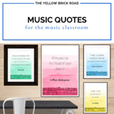 Music Quote Posters for Music Teachers