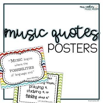 Music Quotes Posters