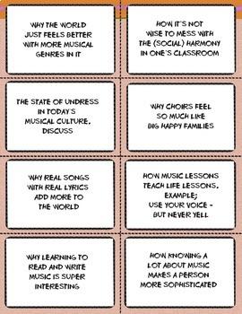 RESPECT your music teacher