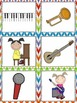 Music Read, Write, and Count the Room {Literacy and Math} {CCSS}