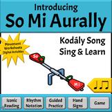 Music Reading: Introducing So-Mi Aurally