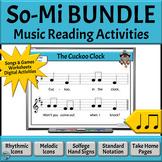Music Reading Activity BUNDLE: Introducing So-Mi Aurally &