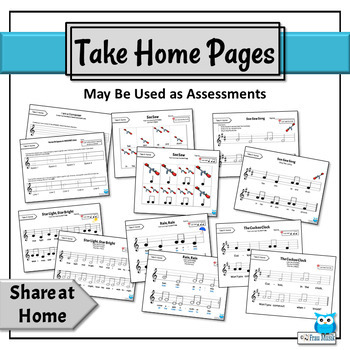 Music Reading Activity BUNDLE: Introducing So-Mi Aurally & on the Staff