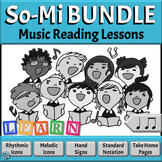 Kodaly Music Reading Activity BUNDLE | Introducing So-Mi