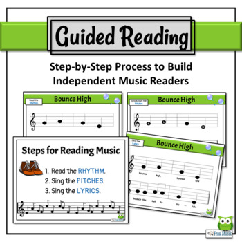 Music Reading: So, La, Mi Song to Read & Sing, Introducing La - Bounce High
