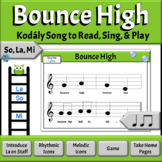 Music Reading: So, La, Mi Song to Read & Sing, Introducing