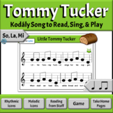 Music Reading Activities - So, La, Mi Song to Read & Sing