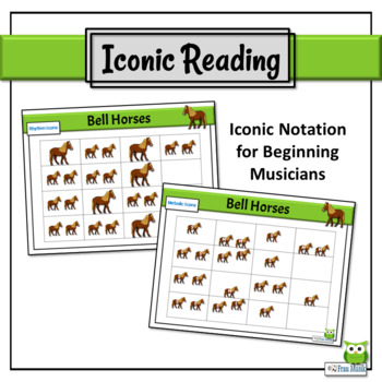 Music Reading - So, La, Mi Song to Read & Sing - Bell Horses