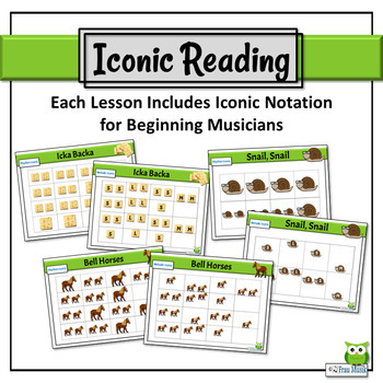 Music Reading BUNDLE: Songs to Read & Sing, So, La, Mi, Quarter Note/Rest, 8th