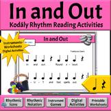 Music Reading Activity, Rhythm Chant to Read & Play, Quart