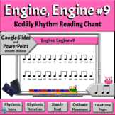Music Rhythm Activity: Quarter Note/Rest, Eighth Notes – Engine, Engine, #9