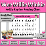 Kodaly Rhythm Reading Activities | Wee Willie Winkie