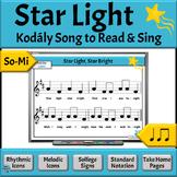 Music Reading: So-Mi Song to Read & Sing - Star Light, Sta