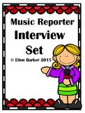 Music Reporter Interview Set