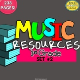 Music Resources (First Grade Music Worksheets and Activities-Set #2)