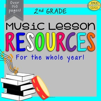 Music Resources (Second Grade Music Activities and Worksheets-Set #1)