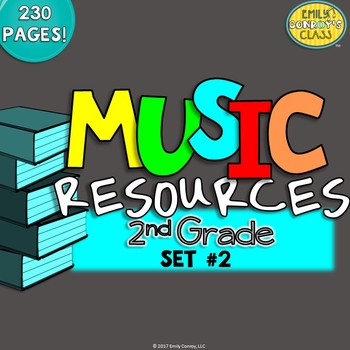 Music Resources (Second Grade Music Worksheets and Activities-Set #2)